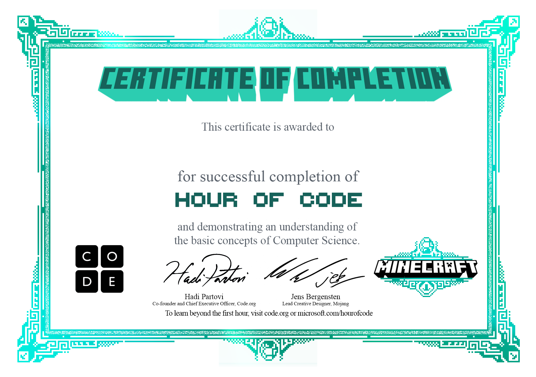 Code personalize your certificate 1betcityfo Images