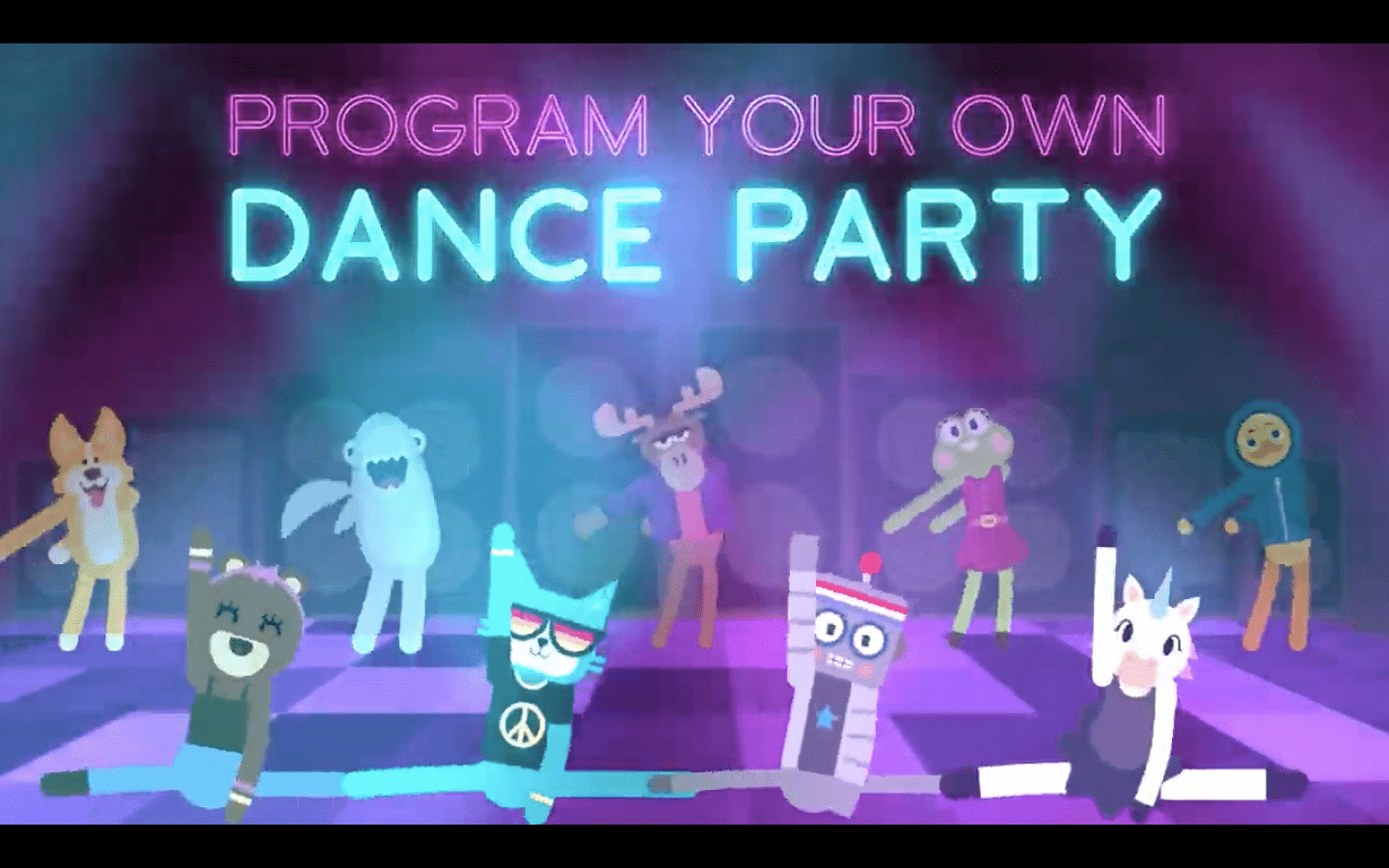 Code Org Dance Party 2018