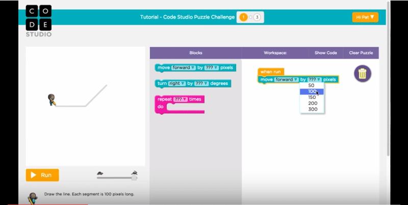 Code org - Code Studio Puzzle Challenge
