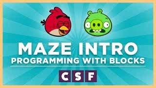 Csf maze intro text blocks