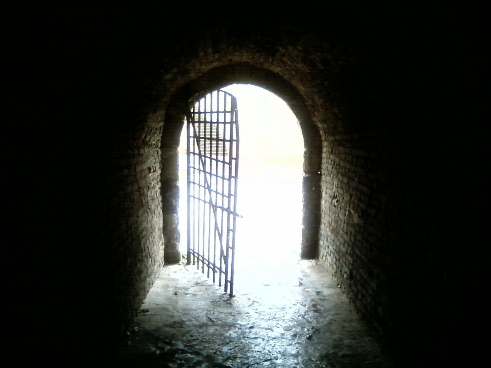 Dark room with light through door - Dark Room With Light Through Door