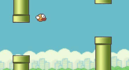 Logo tall flappy